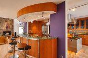 Фото 21 Фиолетовая кухня (100+ фото): выбор дизайнеров — фиолетовые тона для кухни и лучшие сочетания цветов