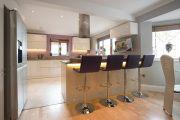 Фото 22 Фиолетовая кухня (90 фото): выбор дизайнеров — фиолетовые тона для кухни и лучшие сочетания цветов