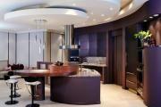 Фото 6 Фиолетовая кухня (90 фото): выбор дизайнеров — фиолетовые тона для кухни и лучшие сочетания цветов