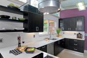 Фото 18 Фиолетовая кухня (90 фото): выбор дизайнеров — фиолетовые тона для кухни и лучшие сочетания цветов