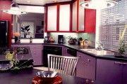 Фото 16 Фиолетовая кухня (90 фото): выбор дизайнеров — фиолетовые тона для кухни и лучшие сочетания цветов
