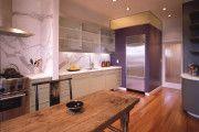 Фото 7 Фиолетовая кухня (90 фото): выбор дизайнеров — фиолетовые тона для кухни и лучшие сочетания цветов