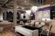Фото 17 Фиолетовая кухня (90 фото): выбор дизайнеров — фиолетовые тона для кухни и лучшие сочетания цветов