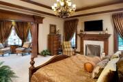 Фото 2 Спальни в классическом стиле (60 фото): роскошь, блеск и комфорт