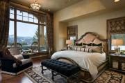 Фото 32 Спальни в классическом стиле (60 фото): роскошь, блеск и комфорт