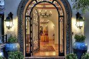 Фото 5 Кованые двери (45 фото): изысканность эпохи возрождения и модная тенденция