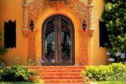 Фото 14 Кованые двери (45 фото): изысканность эпохи возрождения и модная тенденция