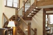 Фото 17 Кованые перила для лестниц (45 фото): мелодия, застывшая в металле