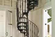 Фото 18 Кованые перила для лестниц (45 фото): мелодия, застывшая в металле