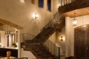 Фото 19 Кованые перила для лестниц (45 фото): мелодия, застывшая в металле