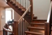 Фото 22 Кованые перила для лестниц (45 фото): мелодия, застывшая в металле