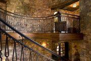 Фото 11 Кованые перила для лестниц (45 фото): мелодия, застывшая в металле