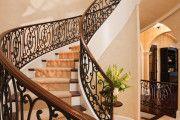 Фото 6 Кованые перила для лестниц (45 фото): мелодия, застывшая в металле