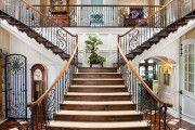 Фото 4 Кованые перила для лестниц (45 фото): мелодия, застывшая в металле