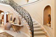 Фото 7 Кованые перила для лестниц (45 фото): мелодия, застывшая в металле