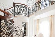 Фото 1 Кованые перила для лестниц (45 фото): мелодия, застывшая в металле