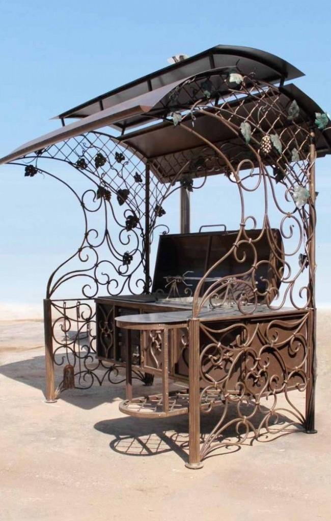 Мангал с размахом — мини-кухня на вашей даче