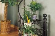 Фото 19 Кованые подставки для цветов (47 фото): достойная опора прекрасному