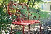 Фото 7 Кованые скамейки (50 фото): нота роскоши в ландшафтной симфонии