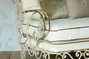 Фото 19 Кованые скамейки (50 фото): нота роскоши в ландшафтной симфонии