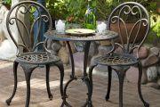 Фото 2 Кованые столы в интерьере (80+ фото): секреты изготовления и ухода за коваными изделиями дома и в саду