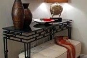 Фото 13 Кованые столы в интерьере (80+ фото): секреты изготовления и ухода за коваными изделиями дома и в саду