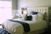 Фото 5 Самый комфортный тренд сезона: 70+ стильных двуспальных кроватей с мягким изголовьем