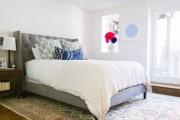 Фото 13 Кровать с мягким изголовьем (50 фото) : роскошь и комфорт
