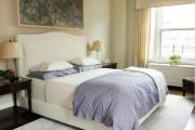 Фото 15 Самый комфортный тренд сезона: 70+ стильных двуспальных кроватей с мягким изголовьем