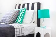 Фото 18 Самый комфортный тренд сезона: 70+ стильных двуспальных кроватей с мягким изголовьем
