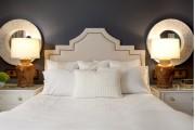 Фото 20 Кровать с мягким изголовьем (50 фото) : роскошь и комфорт