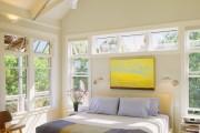 Фото 22 Самый комфортный тренд сезона: 70+ стильных двуспальных кроватей с мягким изголовьем