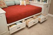 Фото 6 Кровати с ящиками для хранения  (50 фото):  комфорт и рационализм
