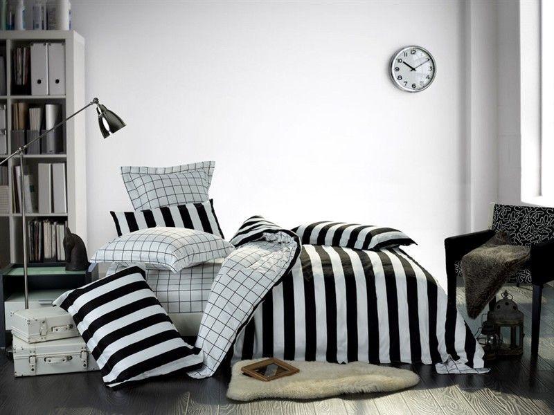 Фото 7 - Стильное черно-белое постельное белье