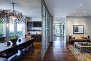 Фото 6 Стеклянные перегородки в квартире (50 фото): как создать прозрачную стену