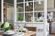 Фото 8 Стеклянные перегородки в квартире (50 фото): как создать прозрачную стену