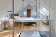 Фото 16 Стеклянные перегородки в квартире (50 фото): как создать прозрачную стену