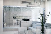 Фото 21 Стеклянные перегородки в квартире (50 фото): как создать прозрачную стену