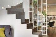Фото 26 Стеклянные перегородки в квартире (50 фото): как создать прозрачную стену