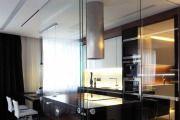 Фото 27 Стеклянные перегородки в квартире (50 фото): как создать прозрачную стену