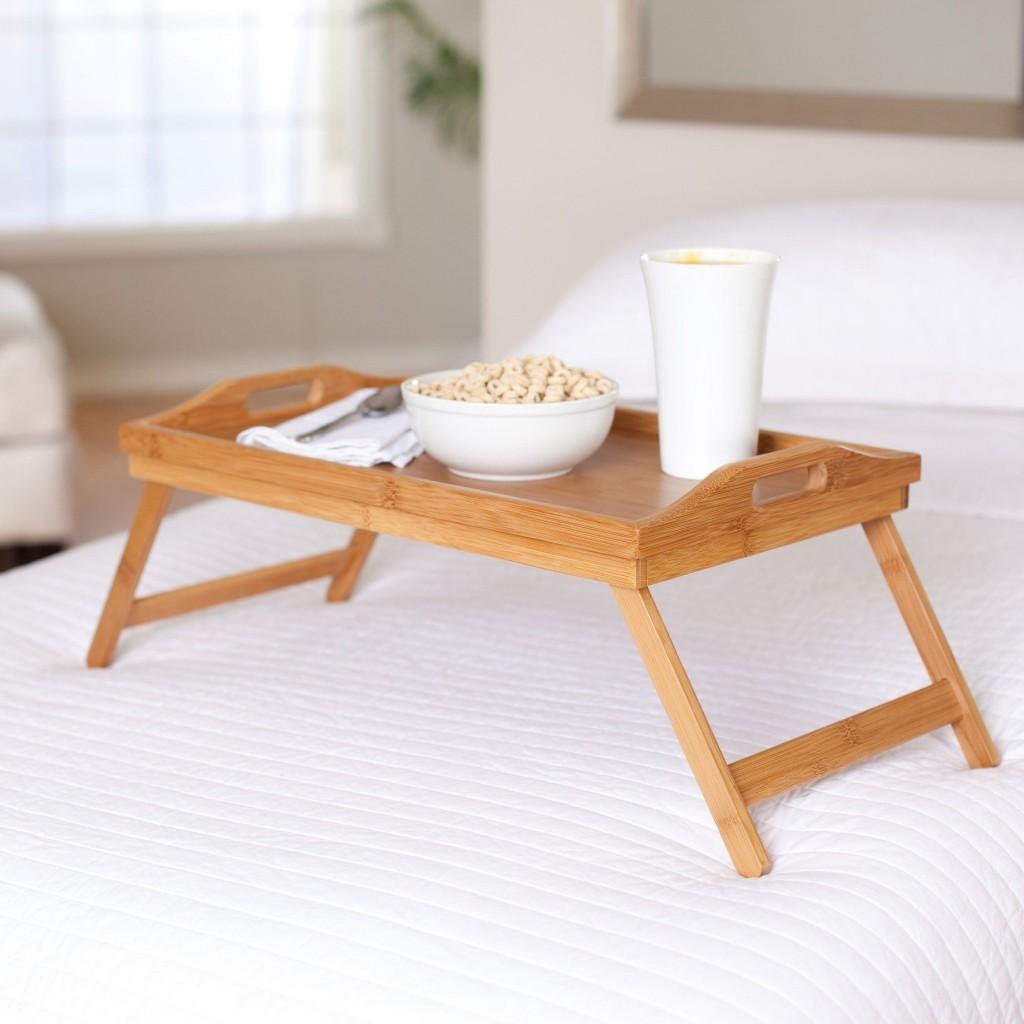 Столик в постель своими руками фото