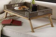 Фото 6 Столик для завтрака в постель (45 фото): практично, удобно, универсально