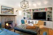 Фото 17 Телевизор на стене в интерьере (45 фото): идеи гармоничного размещения
