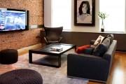 Фото 19 Телевизор на стене в интерьере (45 фото): идеи гармоничного размещения