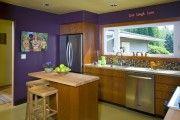 Фото 9 Фиолетовая кухня (90 фото): выбор дизайнеров — фиолетовые тона для кухни и лучшие сочетания цветов