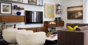 Телевизор на стене в интерьере (45 фото): идеи гармоничного размещения фото