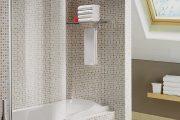 Фото 8 Стеклянные шторки для ванной: что нужно знать при выборе и 50 избранных дизайнерских решений