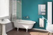 Фото 2 Стеклянные шторки для ванной: что нужно знать при выборе и 50 избранных дизайнерских решений