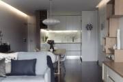 Фото 18 Светодиодные светильники для кухни (49 фото): ярко и функционально