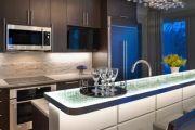 Фото 7 Светодиодные светильники для кухни (49 фото): ярко и функционально